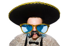 Lustiger Mexikaner Stockfotografie