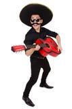 Lustiger Mexikaner Stockbild