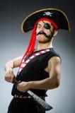 Lustiger Pirat Stockfotografie
