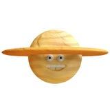 Lustiger Planetenplasticine oder -lehm der Karikatur vektor abbildung