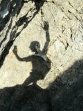 Lustiger Schatten Lizenzfreies Stockbild