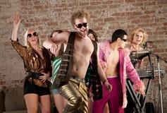 Lustiger Tänzer Stockfotos