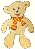 Lustiger Teddybär Lizenzfreies Stockfoto