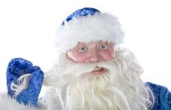 Lustiger Weihnachtsmann lizenzfreies stockbild