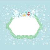 lustiger Weihnachtsmann Lizenzfreie Stockfotografie