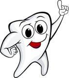 Lustiger Zahn Stockbild