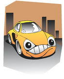 Lustiges Auto Stockfotografie