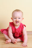 Lustiges Baby (7 Monat) Stockbilder