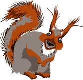 Lustiges Eichhörnchen Lizenzfreie Stockfotos