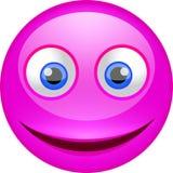 Lustiges emoji mit Lächeln lizenzfreie stockfotos