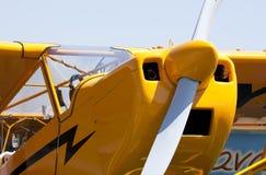 Lustiges Flugzeug Lizenzfreie Stockfotografie