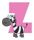 Lustiges Karikaturen Alphabet-z Lizenzfreies Stockfoto
