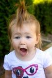 Lustiges Kleinkind Lizenzfreies Stockfoto