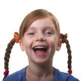 Lustiges Mädchen Stockbild