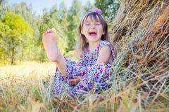 Lustiges Mädchen Lizenzfreie Stockfotos