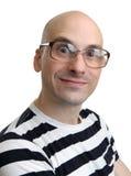 Lustiges Mann-Gesicht Lizenzfreie Stockfotos