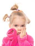 Lustiges Mädchen Lizenzfreies Stockfoto