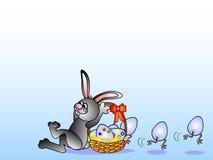 Lustiges Ostern lizenzfreie abbildung