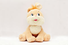 Lustiges Pelzkaninchen weichen Kind-` s Spielzeugs Lizenzfreies Stockfoto