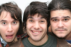 Lustiges Trio Stockfoto