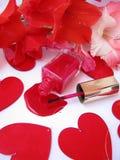 Lustrador e flores de prego Foto de Stock Royalty Free