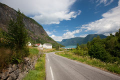 Lustrafjord Stock Photography
