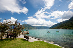 Lustrafjord Stock Images