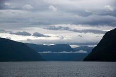 Lustrafjorden, Sogn og Fjordane, Norway Royalty Free Stock Photo