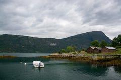 Lustrafjorden, Sogn og Fjordane, Norway Royalty Free Stock Photos