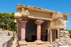 Lustral Basin. Palace of Knossos, Crete, Greece Stock Images