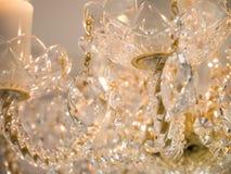 Lustre éclatant de verre cristal Photographie stock libre de droits