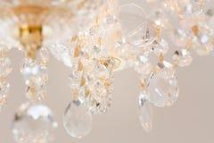 Lustre éclatant de verre cristal Photo libre de droits