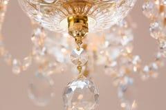 Lustre éclatant de verre cristal Image stock
