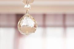 Lustre éclatant de verre cristal Photos stock