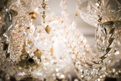 Lustre éclatant de verre cristal Photos libres de droits