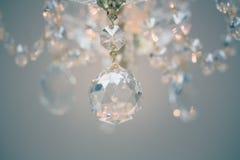 Lustre éclatant de verre cristal Image libre de droits