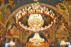 Lustre d'église Image stock