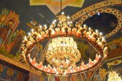 Lustre d'église Photos stock