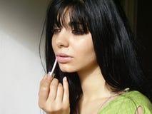Lustre de lèvre Photo libre de droits