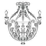 Lustre de Rich Baroque Classic Image stock