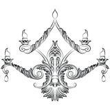 Lustre de Rich Baroque Classic Images stock