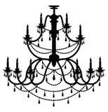 Lustre de Rich Baroque Classic Images libres de droits