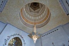 Lustre de Sheikh Zayed Grand Mosque Crystals Image libre de droits