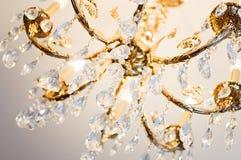Lustre en cristal Photos libres de droits