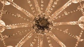 Lustre en verre Image libre de droits