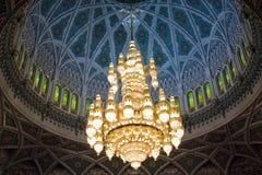Lustre grand de mosquée Image stock