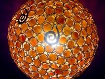 Lustre léger accrochant moderne lumineux Image libre de droits