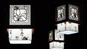 Lustre traditionnel chinois Photo stock