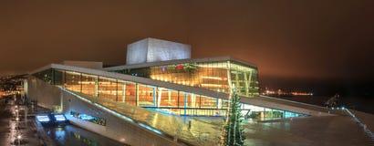 Teatro dell'opera di Oslo immagini stock libere da diritti
