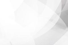 Lustro della geometria del fondo di Grey Abstract e vettore dell'elemento di strato Fotografia Stock Libera da Diritti